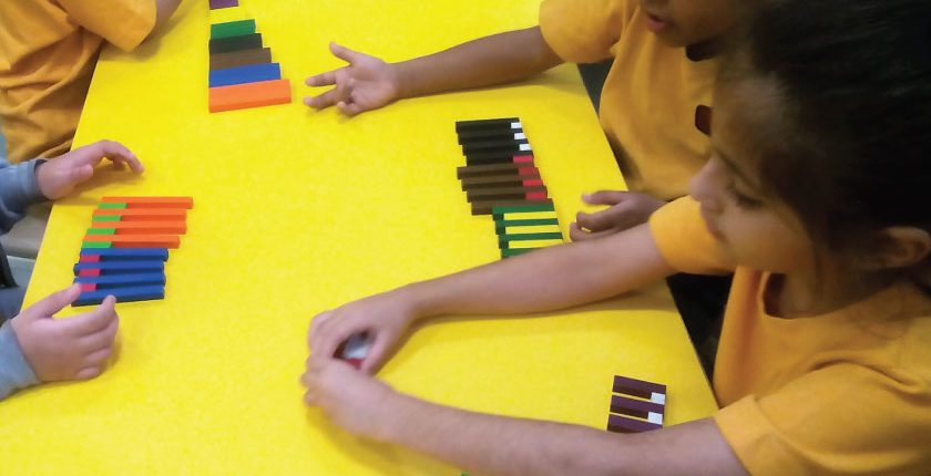 Learning Maths with Manipulatives